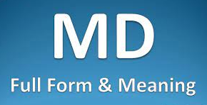 MD Full Form And Meaning In Hindi Language