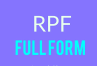 RPF Full Form And Meaning In Hindi Language