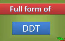 DDT Full Form And Meaning In Hindi Language