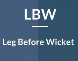 LBW full form and meaning in hindi language