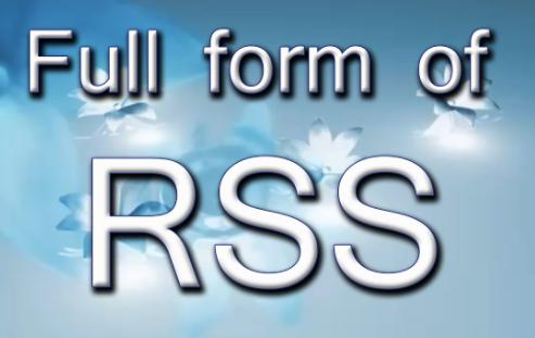 RSS Full form in Hindi Free   आरएसएस किसे कहते हैं?